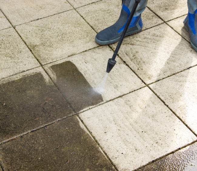 commercial jet washing service